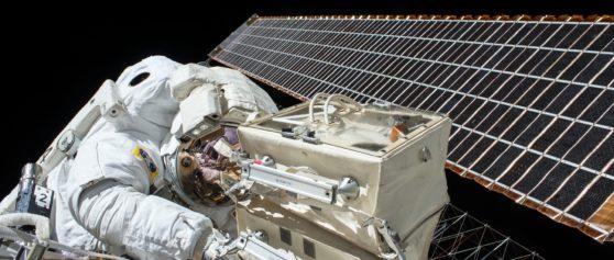 ISS-Außenarbeiten in 3D-Rundumsicht