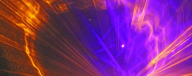 Lichtshow oder Experiment