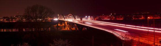 Nachthimmel über Dresden